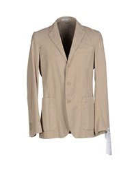 Manuel Ritz Suits And Jackets Blazers Men Beige