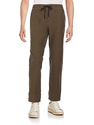 James Perse Stretch Cotton Sweatpants Khaki