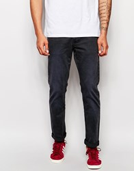 Pepe Jeans Grove Slim Fit Washed Black Garment Dye Denim Black
