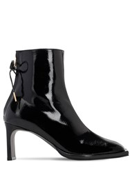 Reike Nen 80Mm Patent Leather Ankle Boots Black