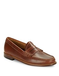 G.H. Bass Larson Penny Loafers Saddle