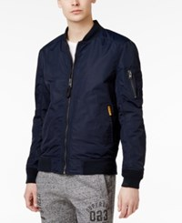 Superdry Men's Lite Flight Bomber Jacket Navy
