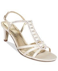 Adrianna Papell Ainsley Evening Sandals Women's Shoes Ivory