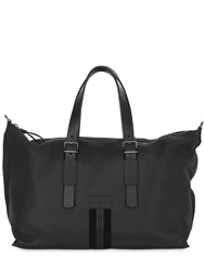 Bally Web Leather Weekend Bag