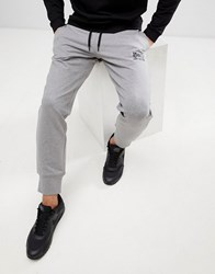 Love Moschino Skinny Joggers In Grey With Logo