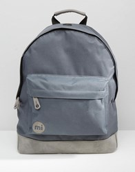 Mi Pac Classic Backpack In Grey Grey Navy