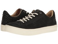 Toms Lenox Sneaker Black Nubuck Men's Lace Up Casual Shoes