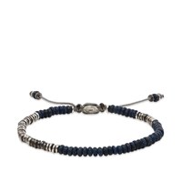 M Cohen M. Round Table Stacked Mini Gemstone Bracelet Blue