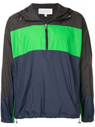 Ck Calvin Klein Colour Block Windbreaker Green