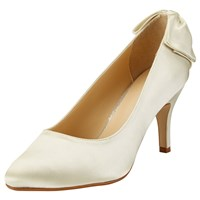 John Lewis Bettie Occasion Court Shoes Ivory