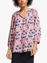 John Lewis Collection Weekend By Lavinia Floral Smock Top Pink