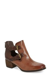 Isola Women's 'Darnell' Bootie Sturdy Brown Leather