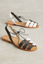 Anthropologie Ball Pages Equinox Espadrilles Black