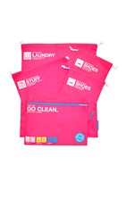 Flight 001 Go Clean Bag Set Pink