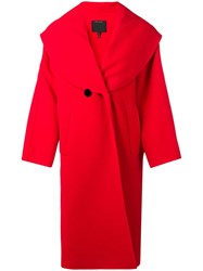 Marc Jacobs Oversized Coat Red