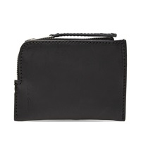 Rick Owens Small Leather Wallet Black