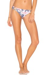 Stone Fox Swim Playa Thong Bottom Pink