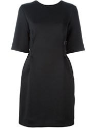 Y 3 Cinched Waist Dress Black