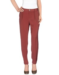 Hoss Intropia Trousers Casual Trousers Women Cocoa