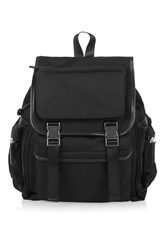 Topshop Ben Mini Pocket Backpack Black