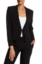 Catherine Malandrino Dual V Neck Fully Lined Jacket Black