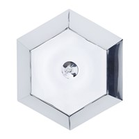 Tom Dixon Cut Wall Ceiling Light Chrome