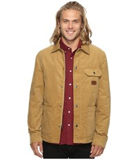 Volcom Superior Jacket Burnt Khaki Men's Coat Brown