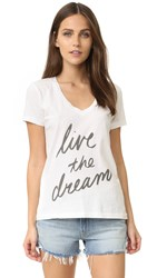 Sol Angeles Live The Dream Tee White
