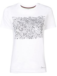 Paul Smith Ps Covent Garden Map T Shirt White