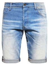 G Star Gstar Arcz 3D 1 2 Denim Shorts Light Aged Blue Denim