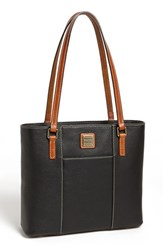 Dooney And Bourke 'Small Lexington Pebble Grain Collection' Water Resistant Leather Shopper Black