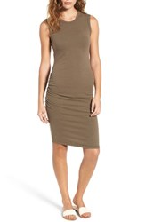 James Perse Women's Ruched Tank Dress