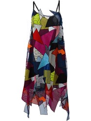 Christopher Kane Patchwork Dress Multicolour
