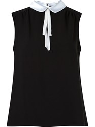 Martha Medeiros Sleeveless Blouse Black