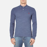 Polo Ralph Lauren Men's Long Sleeve Slim Fit Shirt Classic Royal Blue