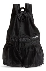 Rvca Ripstop Mesh Backpack Black