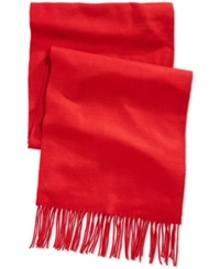 Alfani Red Solid Scarf