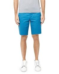 Ted Baker Corsho Relaxed Fit Chino Shorts Bright Blue