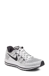 Nike Women's Air Zoom Vomero 12 Running Shoe White Black Pure Platinum