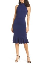 Ali And Jay The Boss Sheath Dress Blue Violet