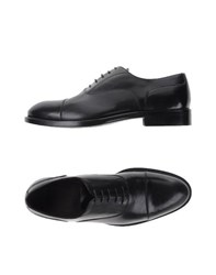 Cerbero Footwear Lace Up Shoes Men Black