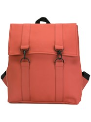 Rains Large Backpack Red