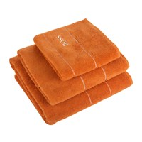 Hugo Boss Plain Jaffa Towel Orange