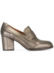 Chie Mihara 'Home Plomo' Pumps Metallic