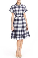 Women's Eliza J Gingham Shirt Dress