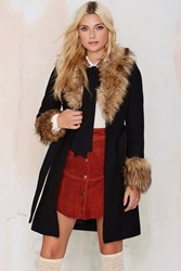 Nasty Gal Hazel Wool Coat