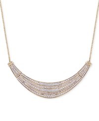 Wrapped In Love Diamond Dome Necklace 2 Ct. T.W. 14K Gold Yellow Gold