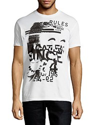 Dsquared Short Sleeve Cotton Graphic Tee White