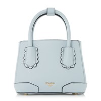 Dune Dinidipley Small Scallop Tote Bag Blue