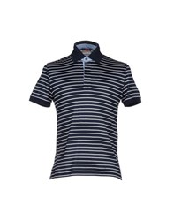 Les Copains Topwear Polo Shirts Men Dark Blue
